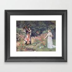 Not the Gardener Framed Art Print