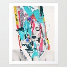 Maniac Art Print