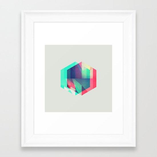 hyx^gyn Framed Art Print