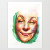 CHEEKY!  Art Print