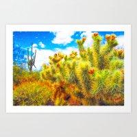 Desert Bounty Art Print