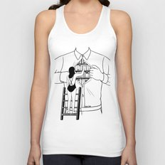 Read all about you Unisex Tank Top