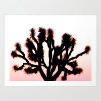Random Joshua Tree Art Print