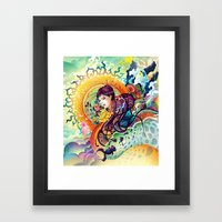Trance Framed Art Print