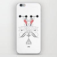 Strongman. iPhone & iPod Skin