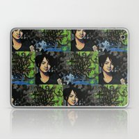mariposas negras  Laptop & iPad Skin