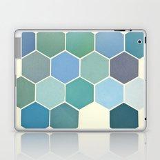 Shades of Blue Laptop & iPad Skin