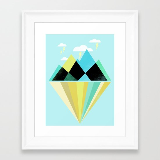 Void Dweller Framed Art Print