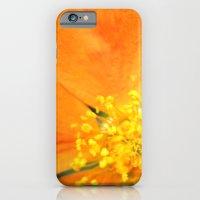 Orange Flower Photograph… iPhone 6 Slim Case