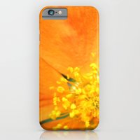 Orange Flower Photograph… iPhone 6 Slim Case