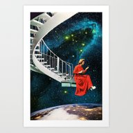 Art Print featuring Nail-Biting Edge by Eugenia Loli