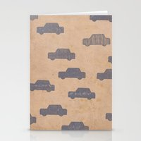 car Stationery Cards featuring Car by sinonelineman