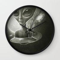Alien II Wall Clock