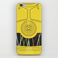C3P0 iPhone & iPod Skin