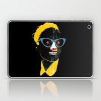 Smile In Black Laptop & iPad Skin