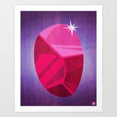 My Ruby Art Print