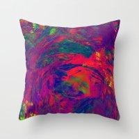 Color Mix 2 Throw Pillow