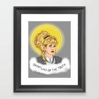 St. Lucy Framed Art Print