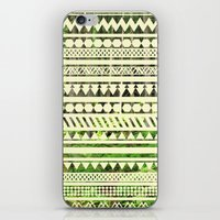 Geometric Woods iPhone & iPod Skin