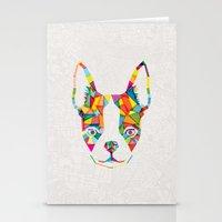 Rainbow Bulldog Stationery Cards