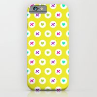 Hearts and kisses iPhone 6 Slim Case