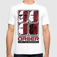 The First Order Mens Fitted Tee White SMALL