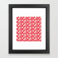 Very Floral Framed Art Print