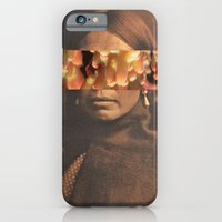 native iPhone & iPod Cases featuring Native by Djuno Tomsni