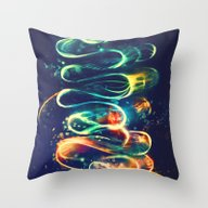 Throw Pillow featuring Leptocephalus by Alice X. Zhang