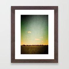 Of the Field Framed Art Print