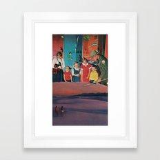 equal rights Framed Art Print