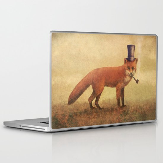 Crazy Like a Fox  Laptop & iPad Skin