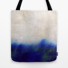 blue blur Tote Bag