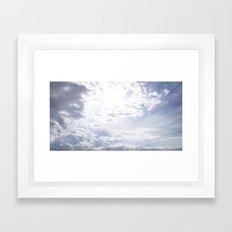 Storm Is Over Framed Art Print