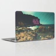 Ask The Night To Explain Laptop & iPad Skin