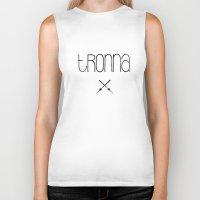 TRONNA - BEST CITY Biker Tank