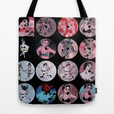 Pinup Girls Tote Bag