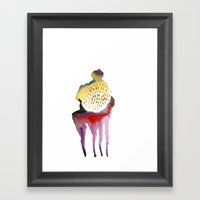 Why Horses Don't Sweat… Framed Art Print