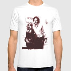 Sid and Nancy Mens Fitted Tee White SMALL