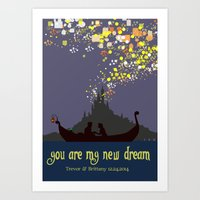 Tangled Custom Art Print