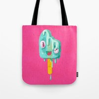 Melty Popsicle Tote Bag