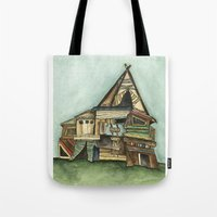 TePee Fort Tote Bag
