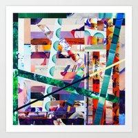 Antonsen (stripes 20) Art Print
