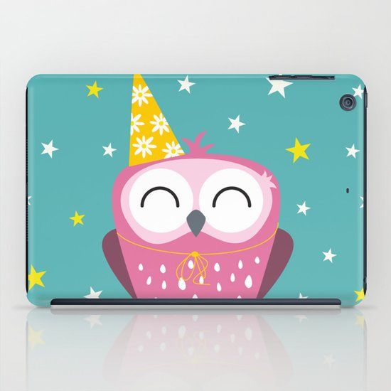 Party Owl iPad Case