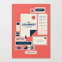 The Destination Canvas Print
