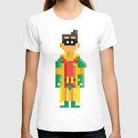 R8bit Womens Fitted Tee White SMALL