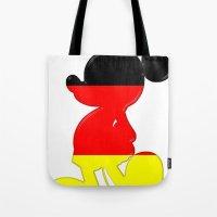 German Mickey Maus Tote Bag
