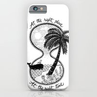iPhone & iPod Case featuring At the right place by Alejandro Giraldo