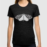 Virgin Tiger Moth Womens Fitted Tee Tri-Black SMALL