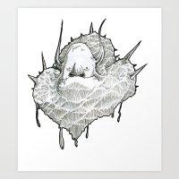 monsterT Art Print